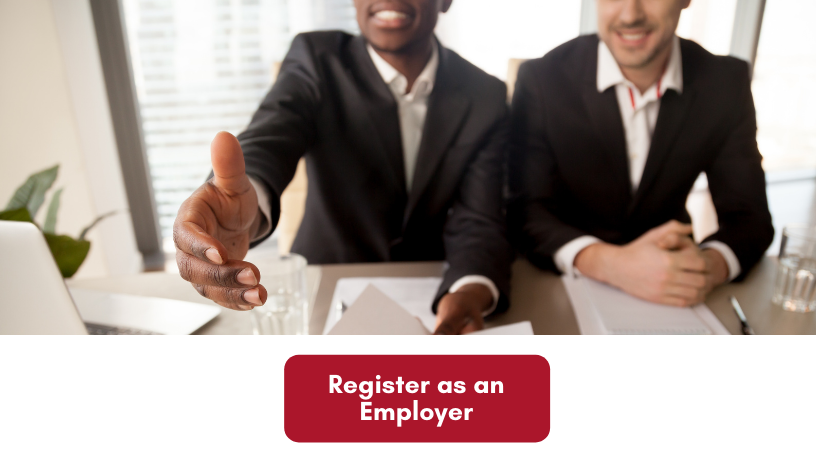 Click on the image to register as an Employer