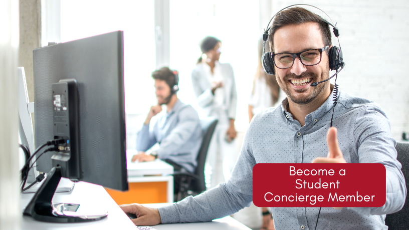 Become a Student Concierge Member