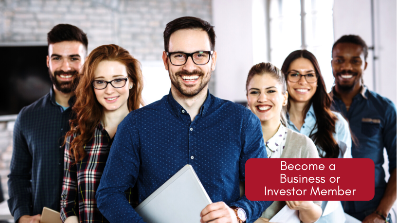Click Here to Become a Business or Investor Member