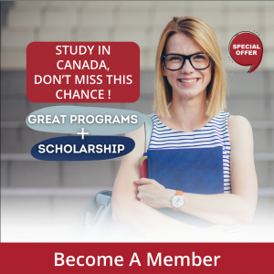 Click here to Work while you Study in Canada-Become a Member